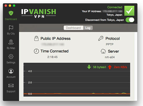 Features New  Ip Vanish