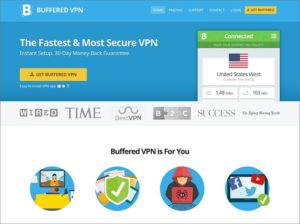 Buffered VPN: Website