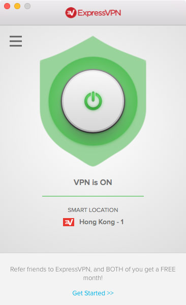 Express vpn ios china