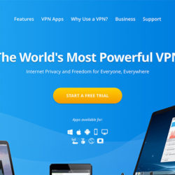 VyprVPN Review: VyprVPN website