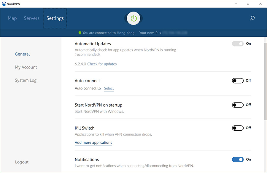 NordVPN Review: NordVPN's desktop software