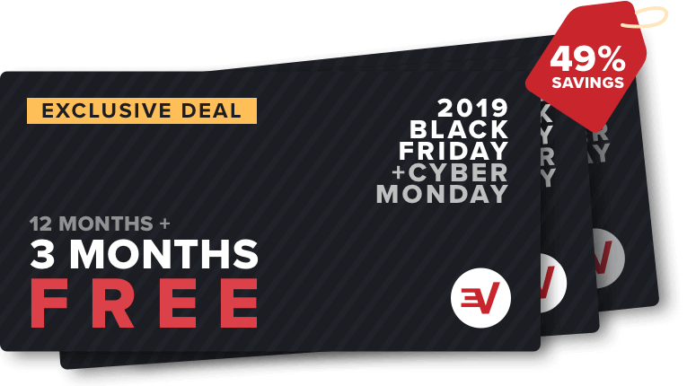 ExpressVPN black friday & cyber monday VPN deal