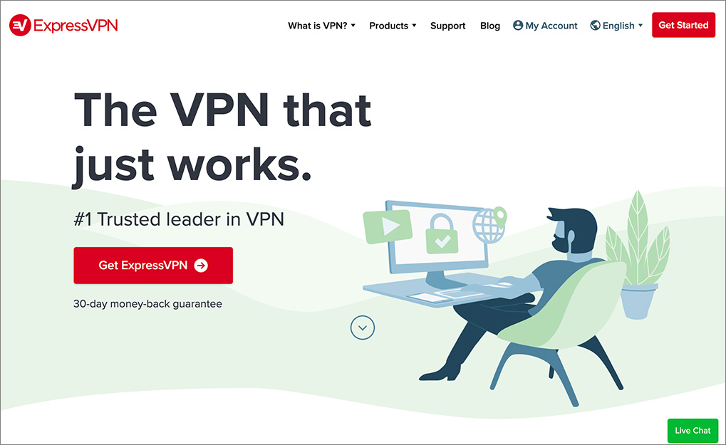 Best VPNs for China: ExpressVPN website