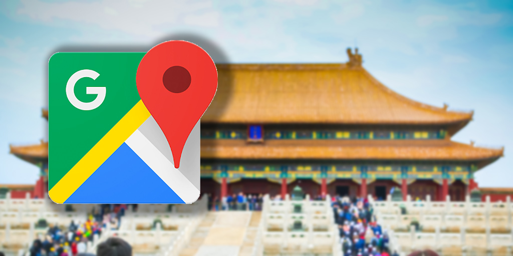 Using Google Maps in China