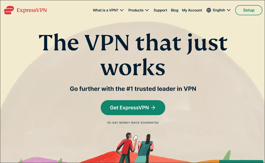 Best Hong Kong VPN: ExpressVPN website